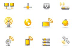 Philos icons - set 12 | Wreless Communication Royalty Free Stock Photography