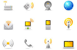 Philos Icons - Set 8 | Wireless Communication Stock Photography