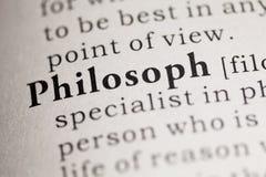 Philosoph Royalty Free Stock Photo