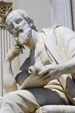 Philosopher. From vienna parliament - detail royalty free stock image