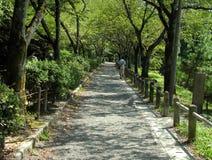 Philosopher's path-Tetsugaku no michi Stock Photos