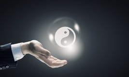 Philosophie de yang de Yin images libres de droits