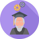 Philosophy Flat Icon Royalty Free Stock Photos