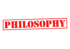 PHILOSOPHY Stock Images