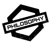 Philosophy rubber stamp Royalty Free Stock Photography