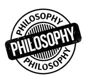 Philosophy rubber stamp Royalty Free Stock Image