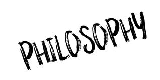 Philosophy rubber stamp Royalty Free Stock Images