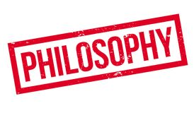 Philosophy rubber stamp Royalty Free Stock Photos