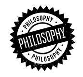 Philosophy rubber stamp Stock Image