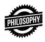 Philosophy rubber stamp Stock Photo