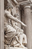 The philosophy of the sculptures Stock Images