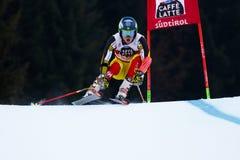 PHILP Trevor in Audi Fis Alpine Skiing World-Kop Men's Reuzes royalty-vrije stock foto's