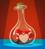 Philtre d'amour illustration libre de droits