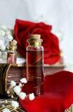 Philtre d'amour dans une bouteille Photo stock