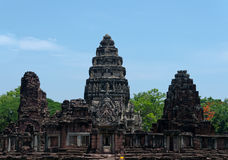 Phimai寺庙,呵叻府,泰国 图库摄影