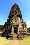 Phimai ancient stone castle Stock Image