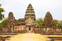 Phimai castle Royalty Free Stock Photo