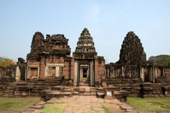 Phimai historical park Stock Photo