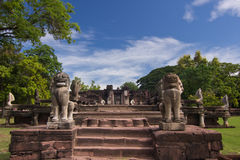 Phimai historical park Royalty Free Stock Photography