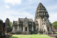 Phimai Historical Park. Prasat Hin Phimai, most intact Khmer temple buildings in Thailand Stock Photography