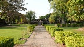 Phimai Historical Park stock footage