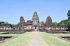 Phimai Historical Park, Khmer Castle Royalty Free Stock Photography