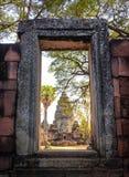 Phimai historical park , Nakhon ratchasima, Thailand Stock Image