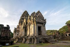 Phimai Historical Park. Shoot from Nakhon Ratchasima Stock Image