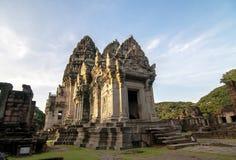 Phimai Historical Park. Shoot from Nakhon Ratchasima stock image