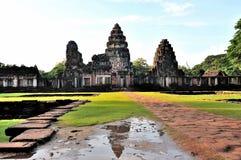 Phimai Historical Park. Shoot From Nakhonratchasima royalty free stock images