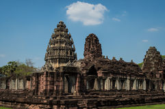 Phimai historical park Royalty Free Stock Images
