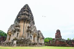 Phimai historical park Stock Photography