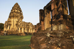 Phimai Historical Park. In Thailand Royalty Free Stock Photography