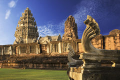Phimai Historical Park. In Thailand Stock Images