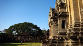 Phimai Historical Park in Thailand Royalty Free Stock Photo