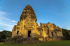 Phimai Historical Prak. Shoot From Nakhonratchasima Stock Image