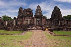 Phimai historischer Park Stockbilder