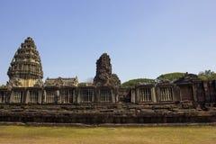 Phimai historischer Park lizenzfreie stockbilder
