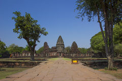 Phimai historischer Park, Thailand stockfoto