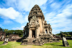 Phimai stone castle Royalty Free Stock Photography
