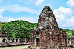Phimai Stone Castle, Thailand. Phimai Historical Park Park is one of the country's history. Located in the Phimai. Nakhon Ratchasima Castle Rock during the Khmer Stock Photos