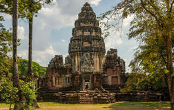 Phimai-Tempel Stockfotos