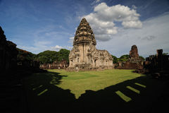 Phimai Temple Historical Park Stock Photo