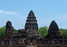 Phimaitempel, de Provincie van Nakhon Ratchasima, Thailand Stock Fotografie