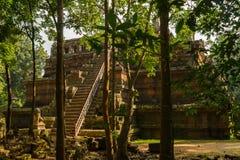 Ο ουράνιος ναός Phimeanakas Στοκ Εικόνα