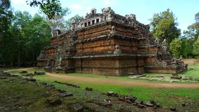 Phimeanakas Temple, Angkor, Cambodia Royalty Free Stock Images