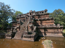 The Phimeanakas Temple, Angkor Thom in Cambodia Stock Images