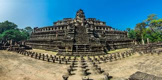 Phimeanakas temple, Angkor Thom Stock Image