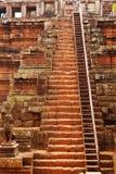 Phimeanakas temple, Angkor wat, Cambodia royalty free stock image