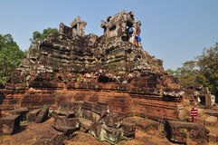 Phimeanakas temple in Cambodia Stock Image